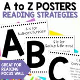 Reading Strategies Alphabet Posters