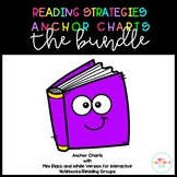 Reading Strategies Anchor Charts THE BUNDLE
