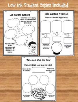 Reading Strategies: Anchor Charts and Graphic Organizers