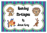 Reading Strategies Beanie Babies