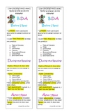 Reading Strategies Before During and After Reading Bookmark