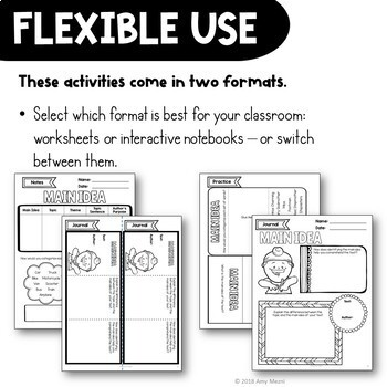 Reading Strategies Big Bundle: Notes, Practice, & Assessment + INB