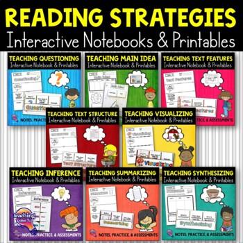 Reading Strategies Big Bundle: Notes, Practice, & Assessme