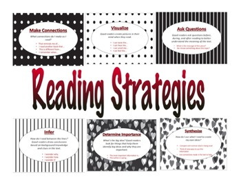 Reading Strategies: Black and Red