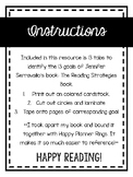 Reading Strategies Book Labels