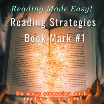 SSR- Reading Strategies Bookmark #1