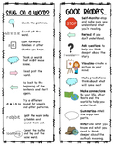 Reading Strategies Bookmark - Distance Learning