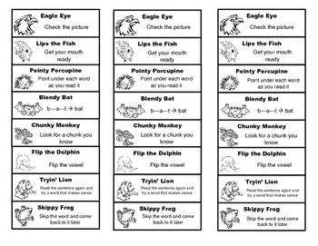Reading Strategies Bookmarks (FREE!)