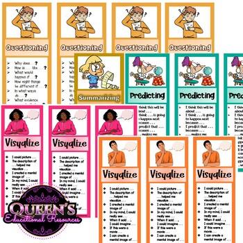Reading Strategies Bookmarks (10)