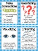 Reading Strategies Bookmarks & Posters BUNDLE
