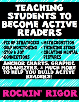 Reading Strategies - Building Active Readers