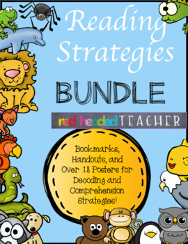 Reading Strategies Bundle - Comprehension and Decoding Strategies