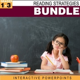 Reading Strategies Bundle-Interactive PowerPoints