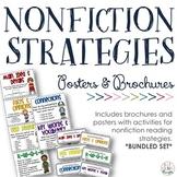 NONFICTION Reading Strategies Bundle {Posters + Brochures}