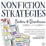 NONFICTION Reading Strategies Bundle {Posters + Brochures}