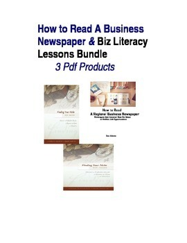 How to Read A Regional Business Newspaper and Entrepreneurial Lessons Bundle