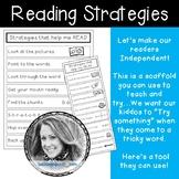 Reading Strategies Card