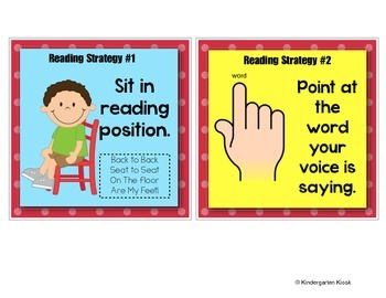 Reading Strategies Charts and Guided Reading Mini Lessons