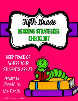 Reading Strategies Checklist- Fifth Grade