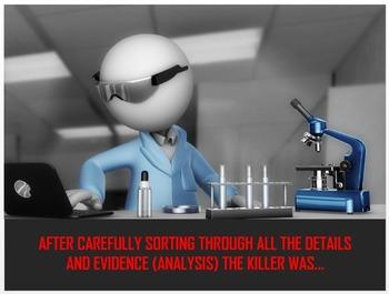 Reading Strategies Classroom Murder Mystery (PowerPoint Version)