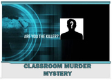 Reading Strategies Classroom Murder Mystery (Word Doc Version)
