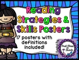 Reading Strategies & Comprehension Skills Posters