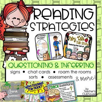 Reading Strategies: Questioning & Inferring Unit from Teacher's Clubhouse