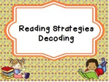 Reading Strategies Decoding
