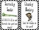 Reading Strategies {Decoding with Beanie Babies!} Black Chevron