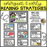 Reading Strategies Emergent and Early Readers Kindergarten and First Grade