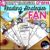Reading Strategies Fan Craft: Reading Comprehension Strategies Activity