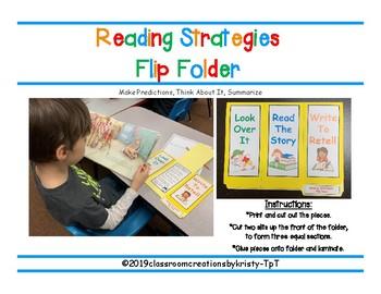 Reading Strategies Flip Folder