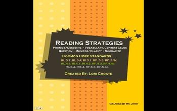 Reading Strategies- Focus on Comprehension