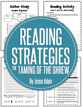 Reading Strategies For The Taming Of The Shrew