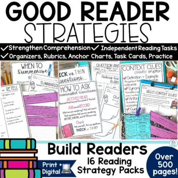 Reading Strategies For the Year