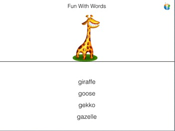 Reading Strategies - Fun With Words