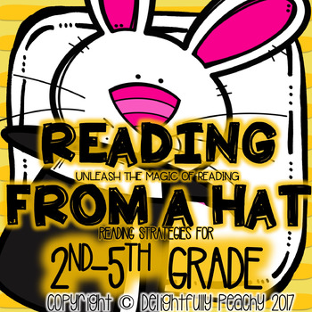 Reading Strategies Game for 2nd-5th Grade