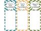 Reading Strategies Goal Bookmarks