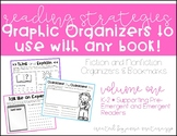 Reading Strategies Graphic Organizers | Pre-Emergent + Eme