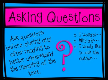 Reading Strategies Graphic Organizers and Posters Bundle