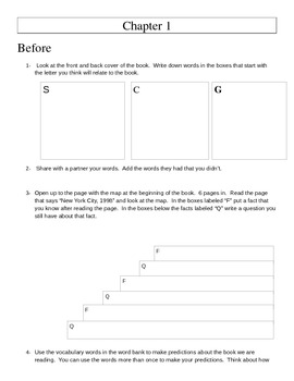 Reading Strategies Guide for A Long Way Gone- more than just questions