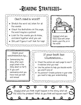 Reading Strategies Handout