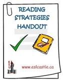 Reading Strategies Handout