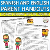 Reading Strategies Handout Spanish and English - For Parents, Teachers, Aides