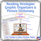 Reading Strategies Practice Using Graphic Organizers For Fiction & Nonfiction