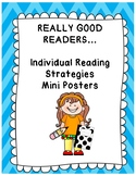Reading Strategies Individual Mini Posters