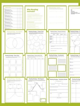 Reading Strategies Interactive Workbook - Printable