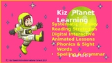 Level 4 W10: Gr 1:Phonics, Sight Words, Language Art: No prep Interactive lesso