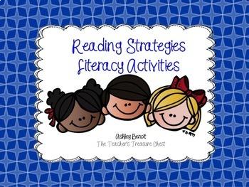 Reading Strategies Literacy Center Bundle