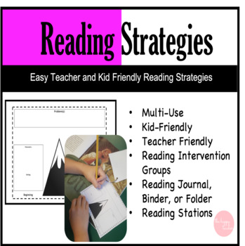 Reading Strategies Main Idea, Compare, and More Kid and Teacher Friendly
